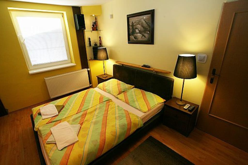 2-room Apartment PALACE (bed room I.)