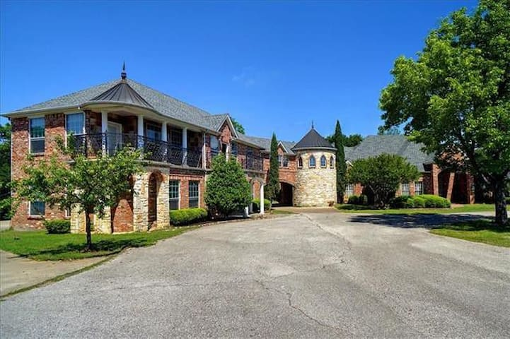 Private Home on Six Acres of Land