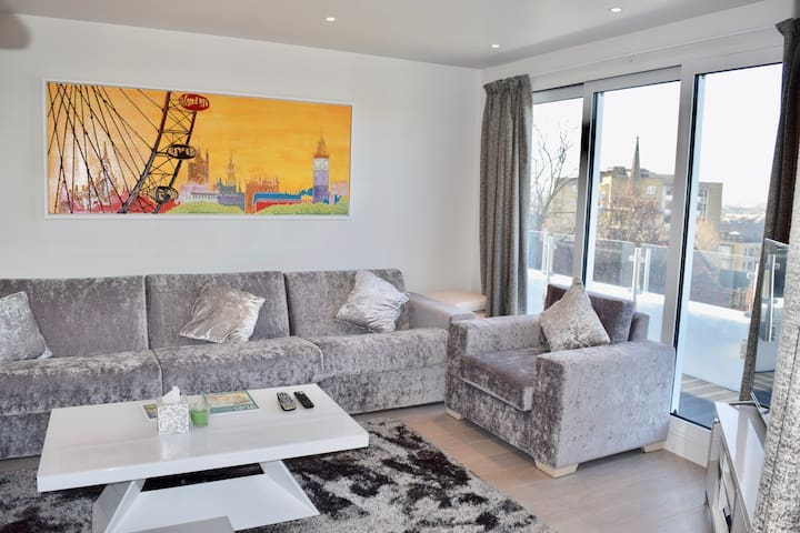 Stunning Notting Hill Penthouse w/ Terrace (RC71) - Londra - Appartamento