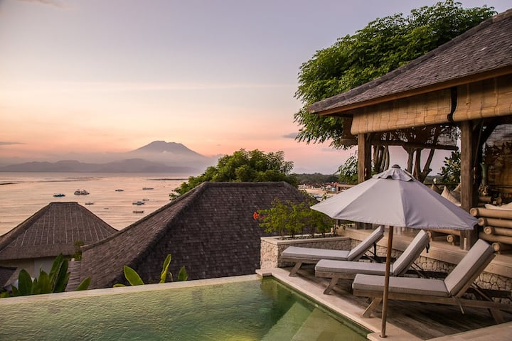 VILLA GANESH LEMBONGAN ISLAND 2 BED PRIVATE POOL
