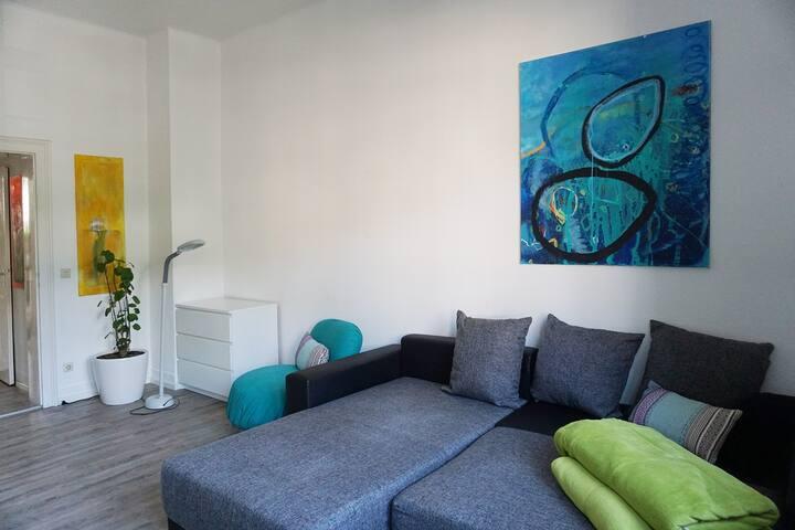 Mitten in Durlach – schönes, großes Zimmer