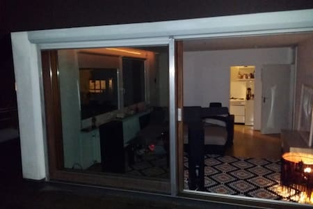 bright, central Penthouse - 70sqm rooftop terrace - Neu-Ulm - Wohnung
