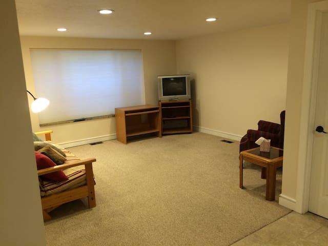 Living Room, Spacious.