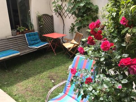 Тихий и просторный дом с садом