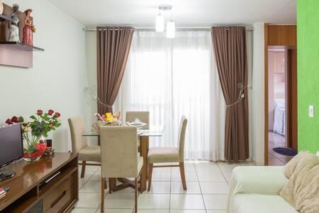 Conforto e natureza é aqui! - Brasília - Apartamento