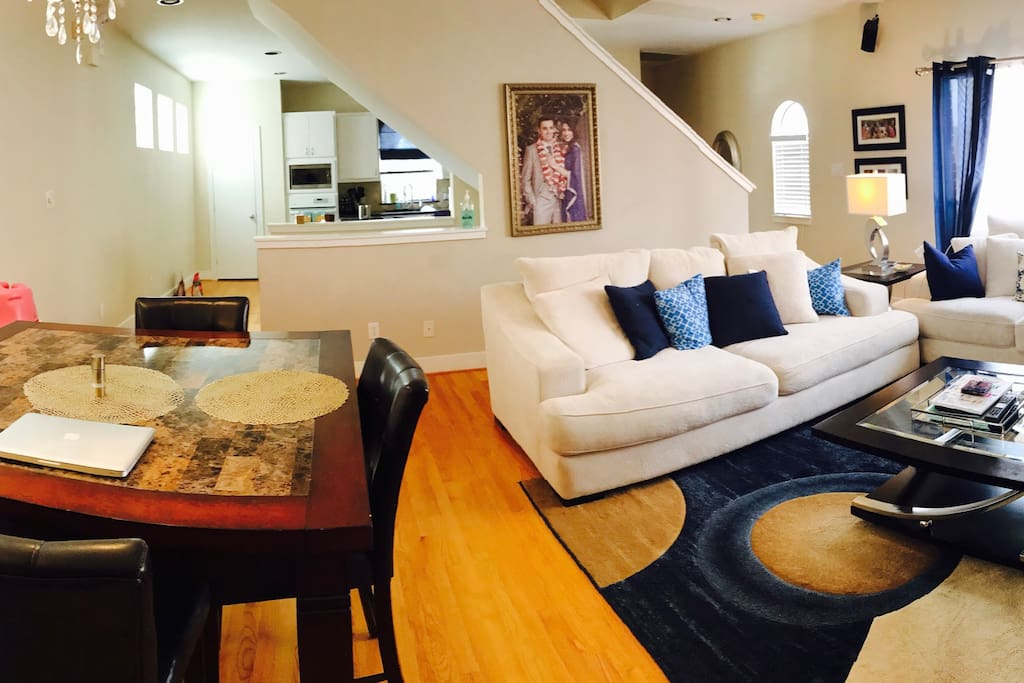Living + Dining area