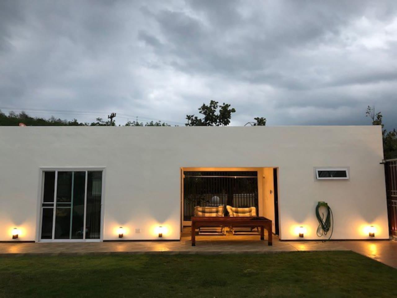 Private ensuite garden bungalow