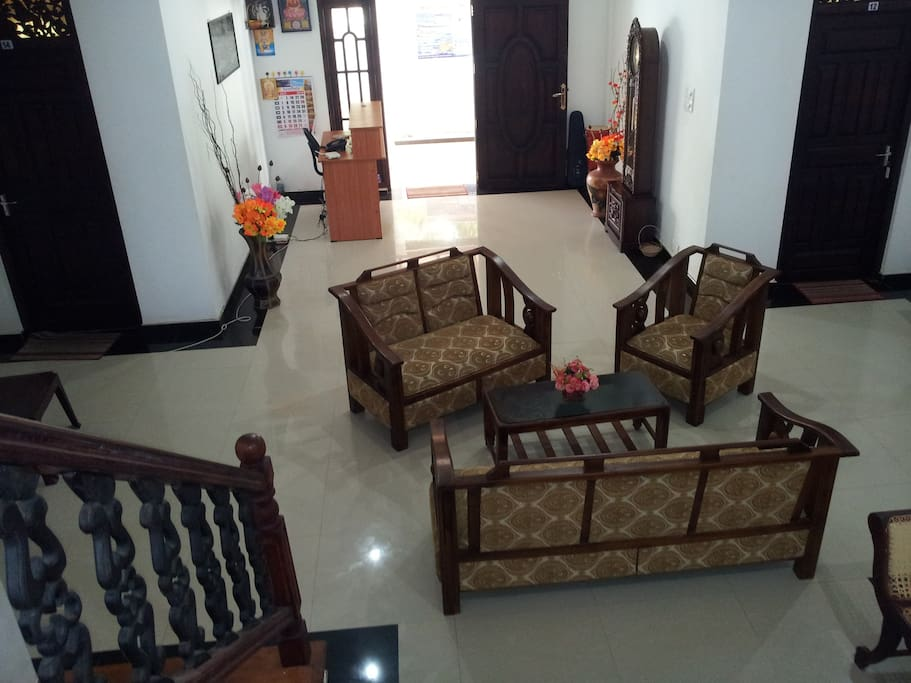 Entrance hall with reception, place where we always welcome you