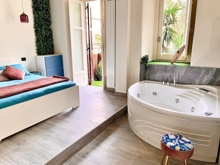 Aj  Lux apartments Jacuzzi