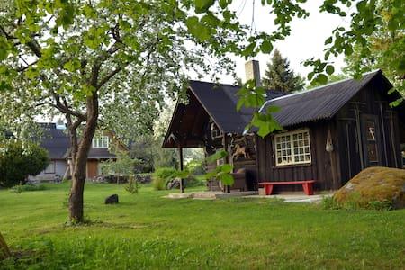 Saunahouse and outdoor kitchen@Matsalu Nature Park