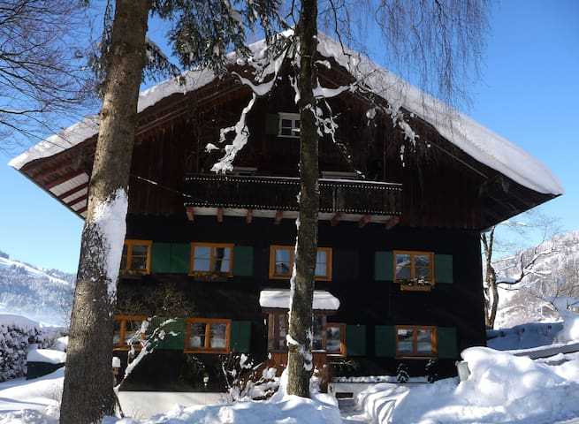 "Cosy flat ""house with tradition"" incl. lift pass!!"