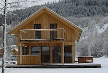Chalet, Sleeps 9, Sauna, Hot Tub - House