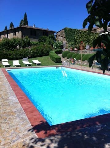 """ZEFIRO"" x 2people-Wine-Pool-Relax. - Greve in Chianti - Appartement"