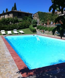 """ZEFIRO"" x 2people-Wine-Pool-Relax. - Greve in Chianti"