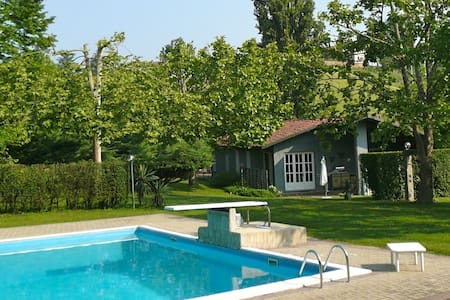 Cottage with Pool & Tennis - Mongardino - Hus