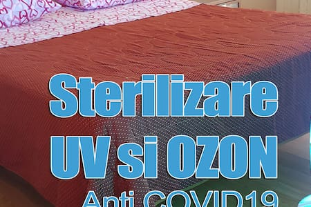 Apartament Central ( parter) . Sterilizare UV