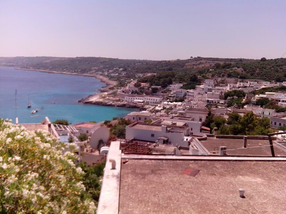 Vista di Castro Marina