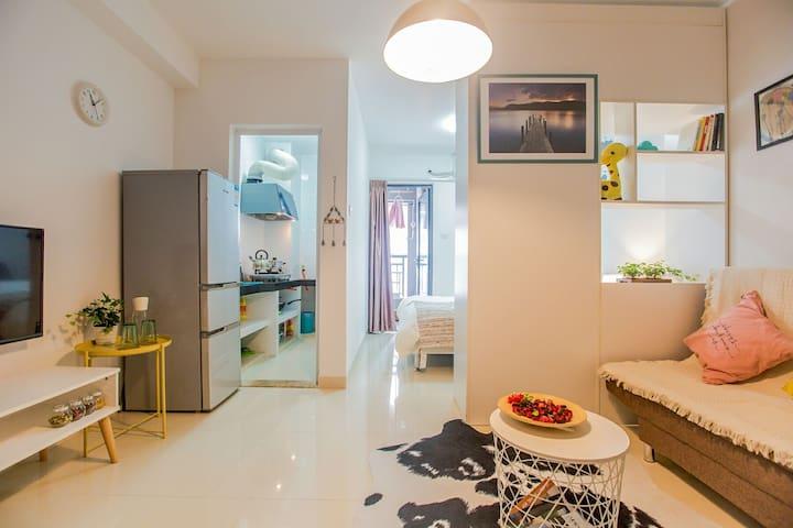 温馨宽敞的大开间,距高新园地铁站500米 - Shenzhen - Apartment