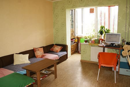 A cozy room in the city center! - Donetsk