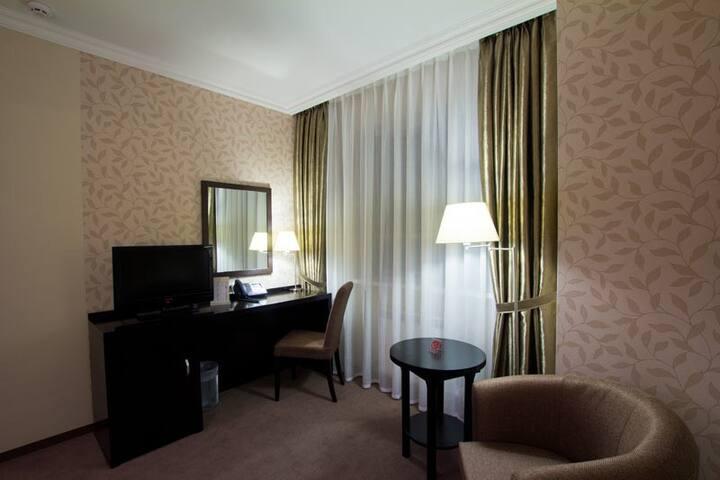 «STANDARD» hotel room in Chernigov!