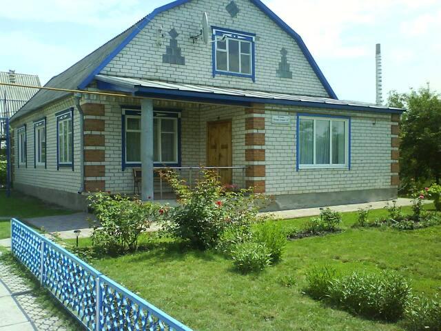 Дом в Миргороде посуточно. Wi-Fi - Миргород - บ้าน