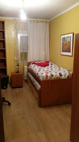 Madrid.Habitación 1 o 2 camas