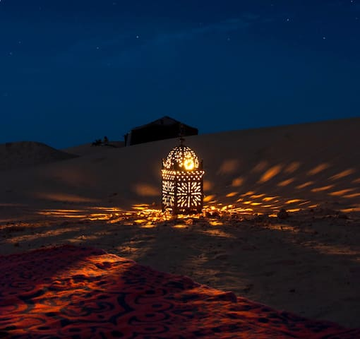 Camp Desert Nights - Mhamid - Bed & Breakfast