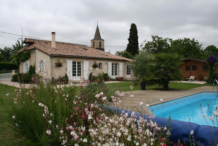 S/W FRANCE Country Cottage  - Aux-Aussat - Huis