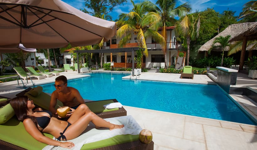 Enjoy tranquil luxury beside our beautiful pool