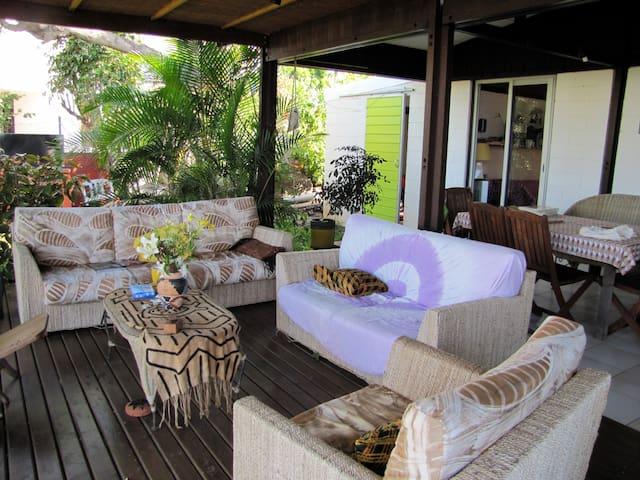 Chambre dans villa  cosy St Leu - Saint-Leu - Casa de campo