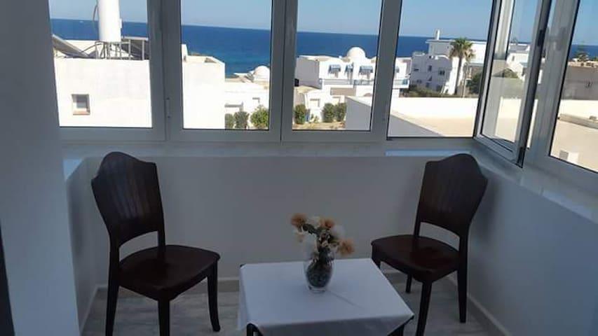 studio de rêve au bord de la mer
