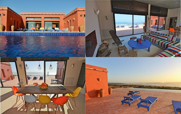 Villa Massa, Riad at the seaside - Sidi Rbat, Cr de Sidi Wassay - Hus