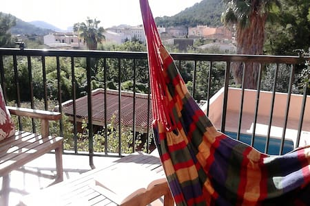 Place, amazing views and pool - Andratx - Wohnung