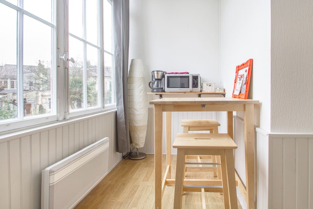 Studio quartier de saint gen s appartements louer for Studio bordeaux a louer