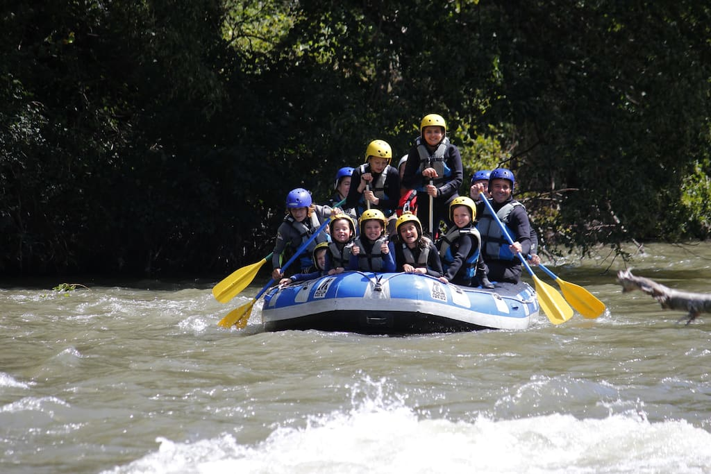Rafting in Val de Arun