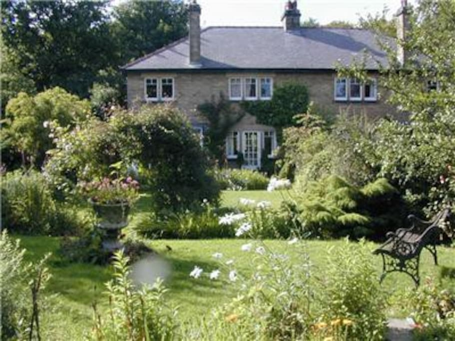 South facing back garden