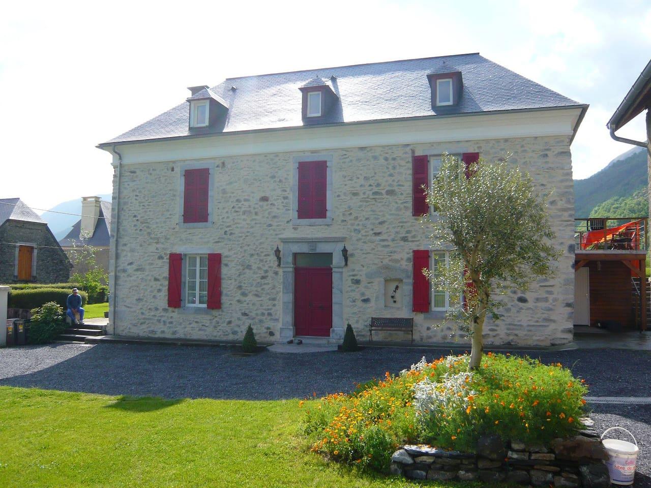 Habitation pour 5/7 personnes dans une belle maison bigourdane