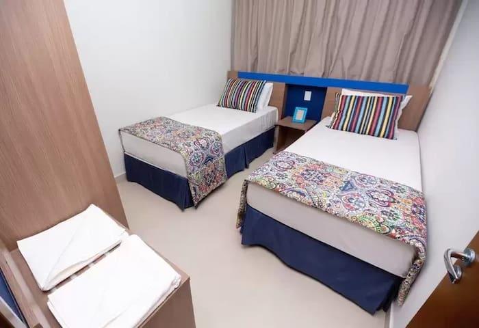 Apartamento  completo p/ 6 pessoas em Caldas Novas