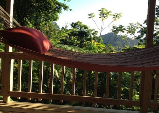 Roots Jungle Retreat - Arawak - Marigot - Cabaña