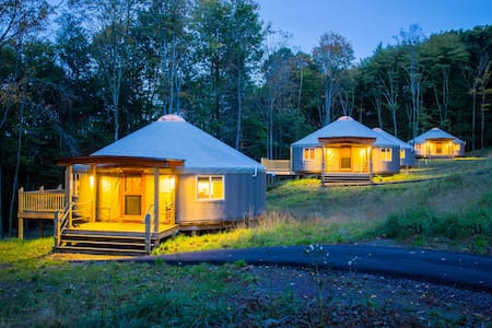 Yurt glamping at Savage River Lodge