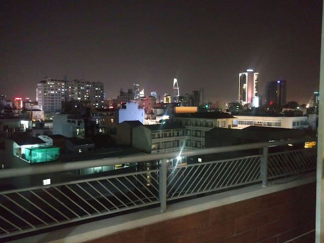 Top floor studio with great view at saigon center