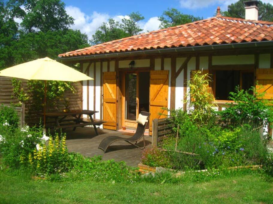 terrasse privative côté séjour