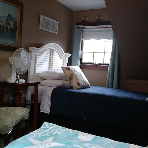 Your bedroom.  Anderson window right by your bed.