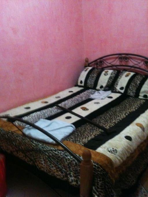 Chambre lits deux personnes