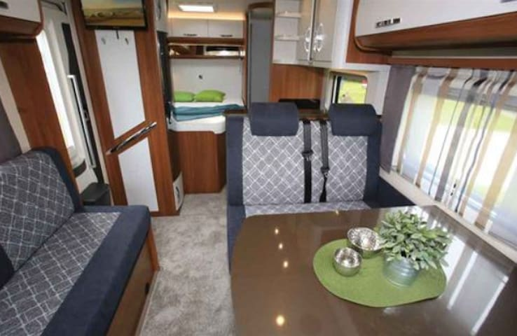 Infinity Campers 4 Berth 4 Seat Belt Driving Lux