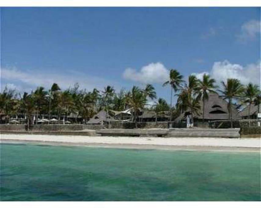 Il villaggio con spiaggia privata