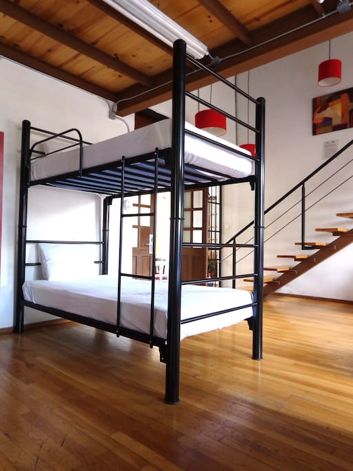 Dormitorios espaciosos e iluminados