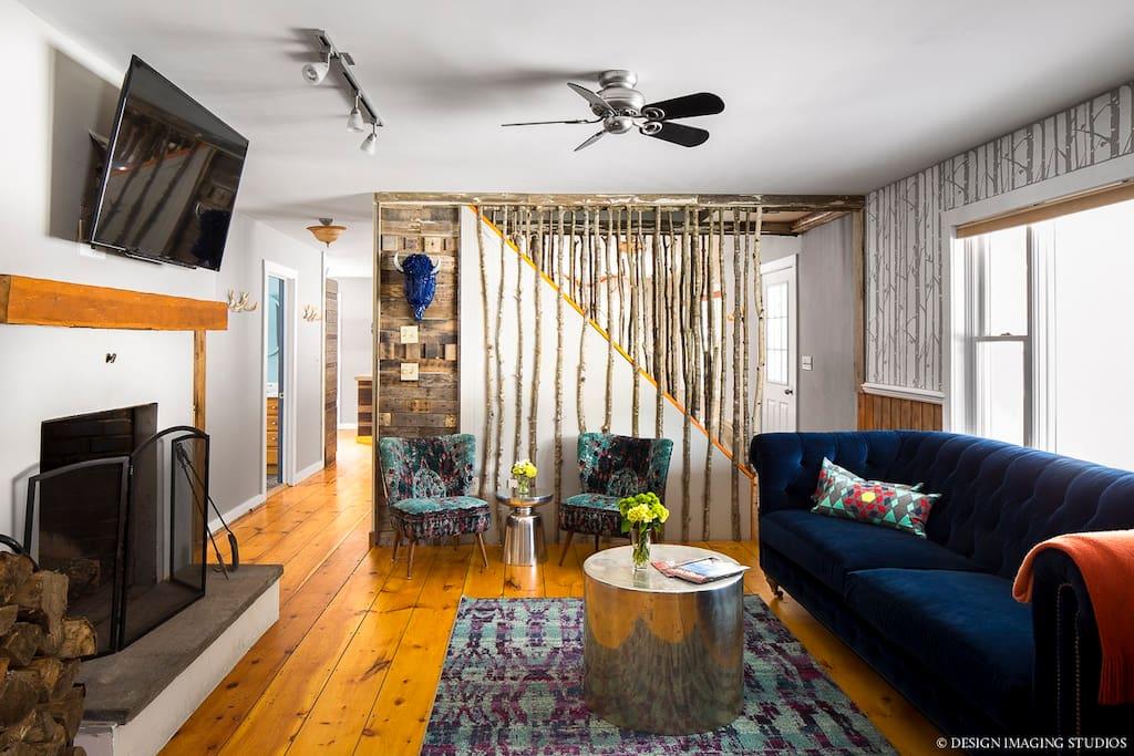 Blue Buffalo living room