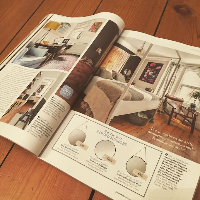 The house recently had a 12 page feature in the March 2015 issue of Ideal Home magazine.