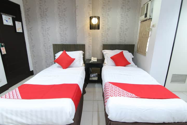 Superior Twin Stay @ Orange Nest Hotel